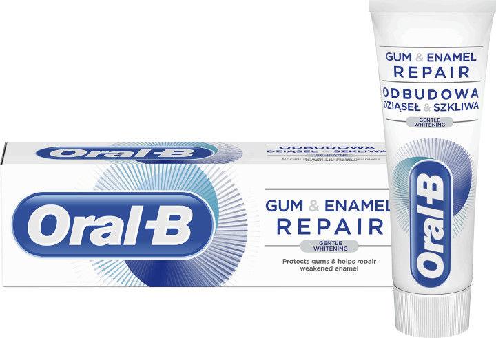 Oral B Gum & Enamel Repair Gentle Whitening delikatna pasta wybielająca do zębów 75 ml