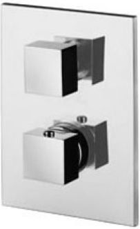 Paffoni Level bateria wannowa podtynkowa termostatyczna 3-drożona LEQ519CR