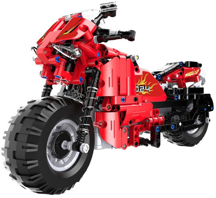 Motocykl - klocki CADA - zdalnie sterowany (484 klocków)