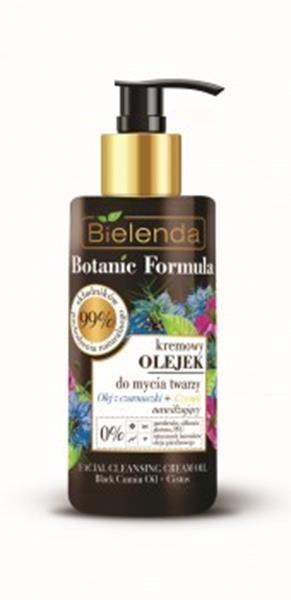 BIELENDA BOTANIC FORMULA Olej z Czarnuszki +Czystek Kremowy olejek do mycia twarzy 140 ml