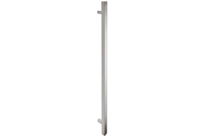 Pochwyt drzwiowy jednostronny L-1300/90 stal nierdzewna kwadratowy bez śrub łączących uchwyt
