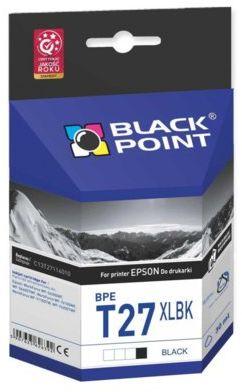 Wkład atramentowy BLACK POINT BPET27XLBK Zamiennik Epson 27XL (C13T27114010)