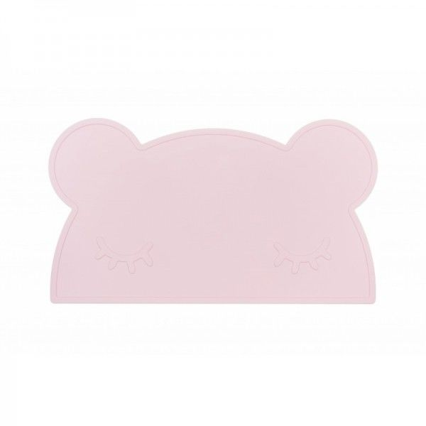We Might be Tiny - Silikonowa Podkładka Miś - Powder Pink