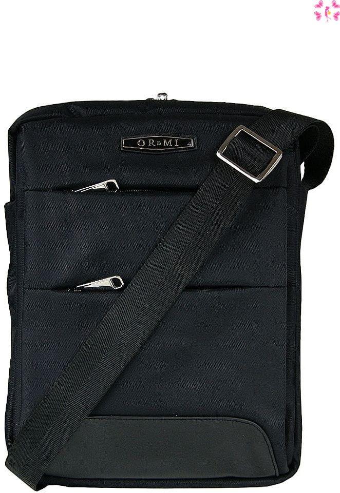 Czarna torba miejska raportówka OR&MI - tablet