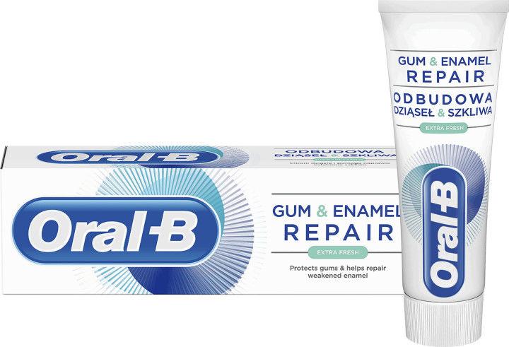 Oral B Gum & Enamel Repair Extra Fresh pasta do zębów dla świeżego oddechu 75 ml