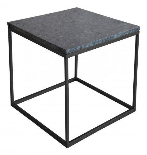 Stolik kawowy Accent Granit czarny kwadratowy mały