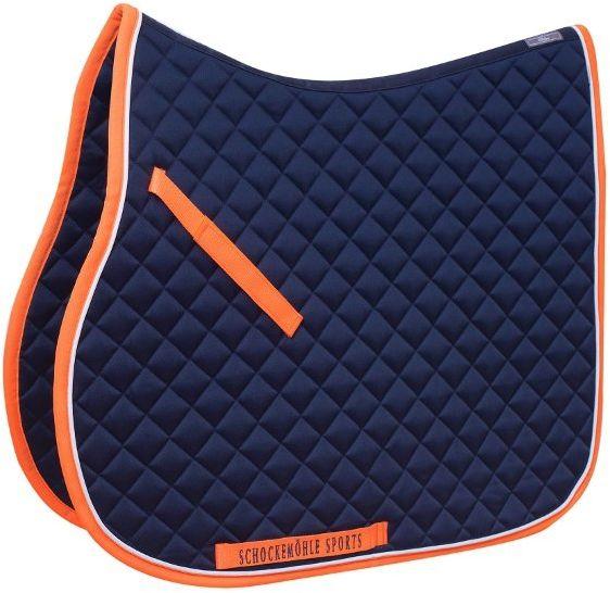 Potnik Trainer Pad navy/orange - Schockemohle