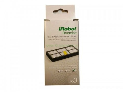 filtry HEPA do iRobot Roomba serii 800/900 BOX