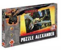 Puzzle 20 maxi Pościg Jak wytresować smoka 2