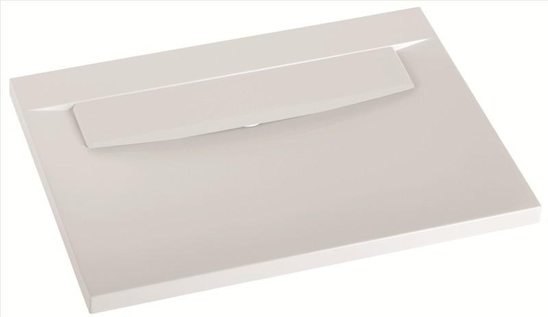 Marmorin umywalka nablatowa Tatoo bez otworu 70,5cm biała 111071020010 __DARMOWA DOSTAWA__