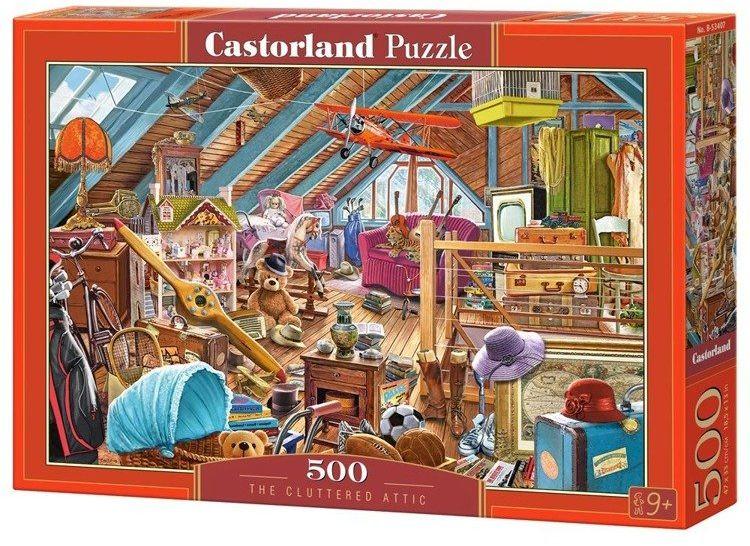 Puzzle 500 Na strychu CASTOR