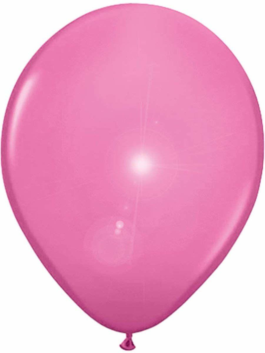 Folat - Balony LED w kolorze róży na imprezę - 10 cali/25 cm - 5 sztuk