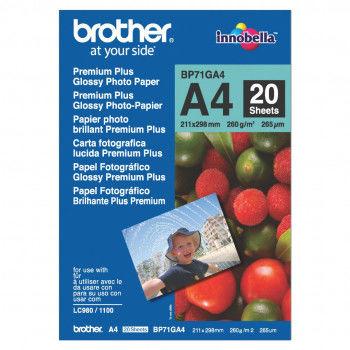Papier foto Brother BP71GA4 A4 260g 20ark. *OD RĘKI*