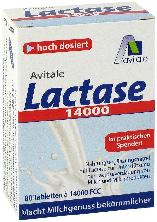 Lactase 14000 FCC tabletki