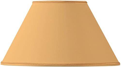 Klosz lampy, wiktoriański, Ø 45 x 19 x 27, jasnożółty
