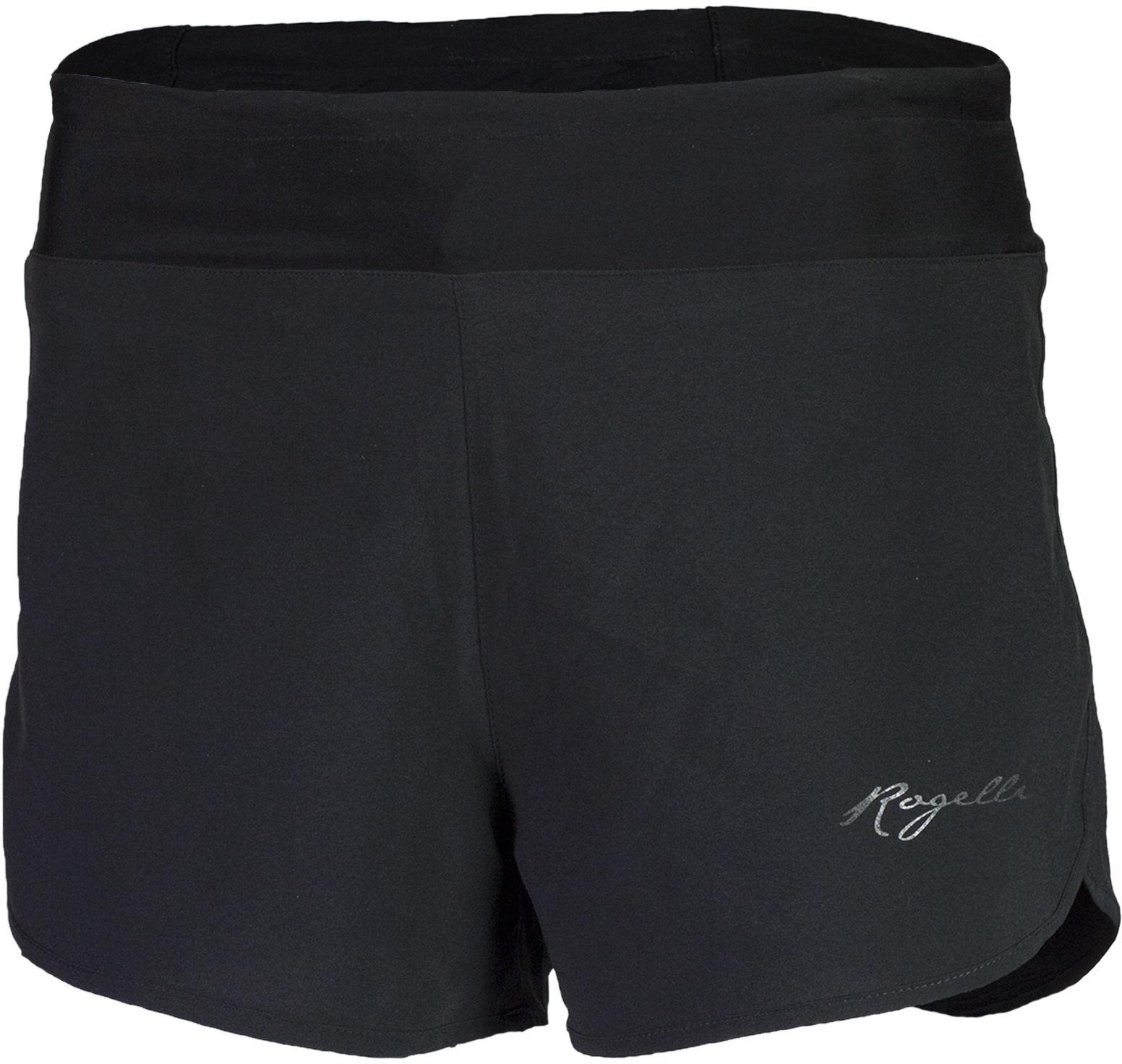 ROGELLI MEA damskie szorty do biegania, czarne 801.004 Rozmiar: XL,rogmeablack