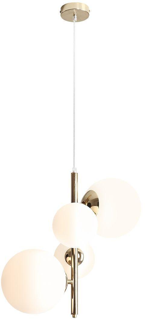 Lampa wisząca BLOOM 1091L30 Aldex nowoczesna oprawa w kolorze złotym