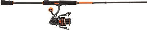 Mitchell Traxx MX Spin wędki i rolki Combo, czarny/pomarańczowy, rozmiar