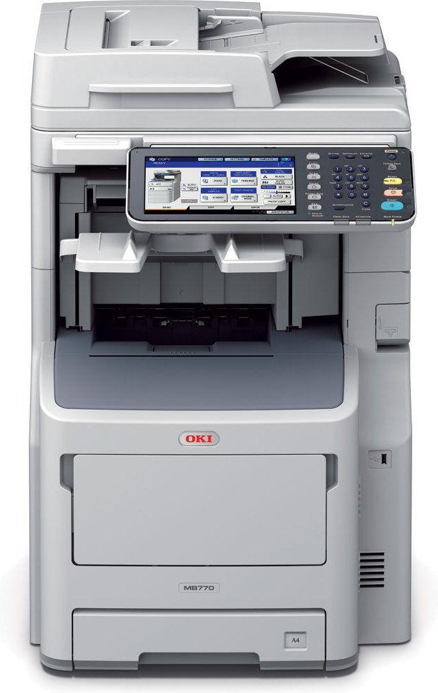 Drukarka laserowa mono Oki MB770dfnfax (45387404)