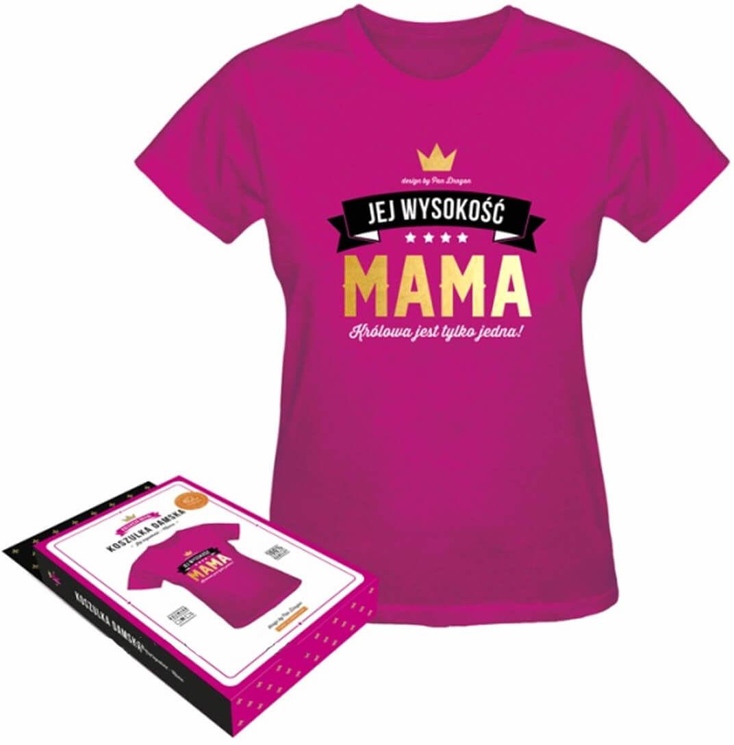 Koszulka z napisem Jej Wysokość Mama