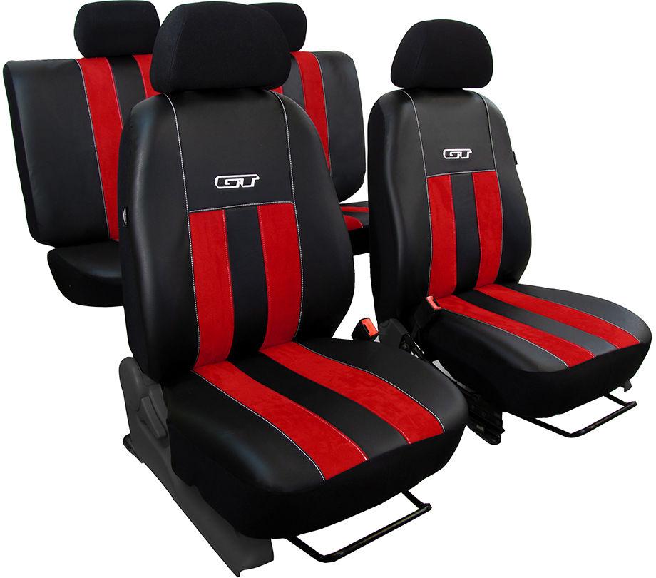 Pokrowce samochodowe do Ford Mustang coupe, GT, kolor czerwony