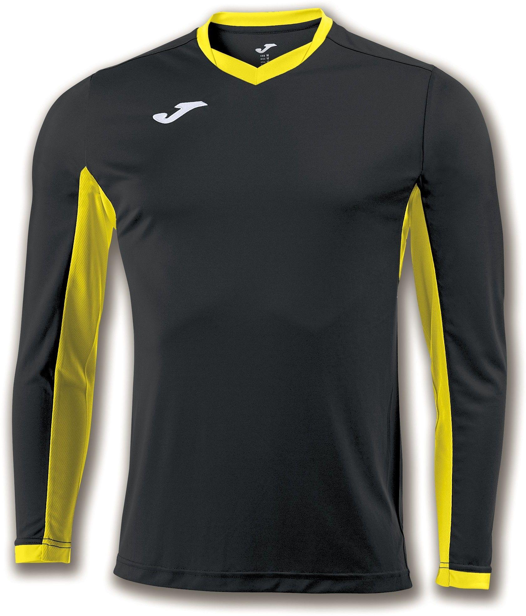 Koszulka Joma Champion IV black/yellow (10 szt.)