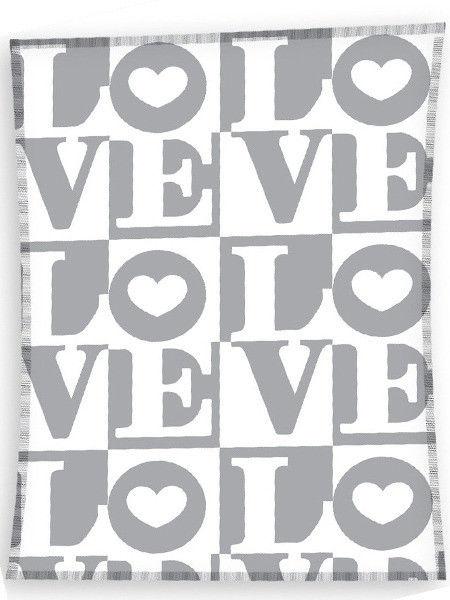 Koc Polarowy Love Kocham Cię 130x170 cm