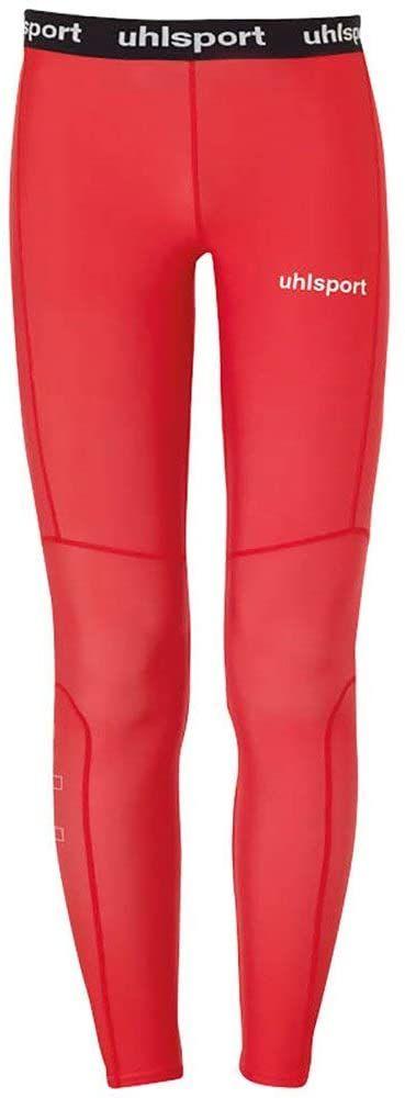 Uhlsport Distinction Pro długie legginsy dziecięce, uniseks czerwony czerwony 152