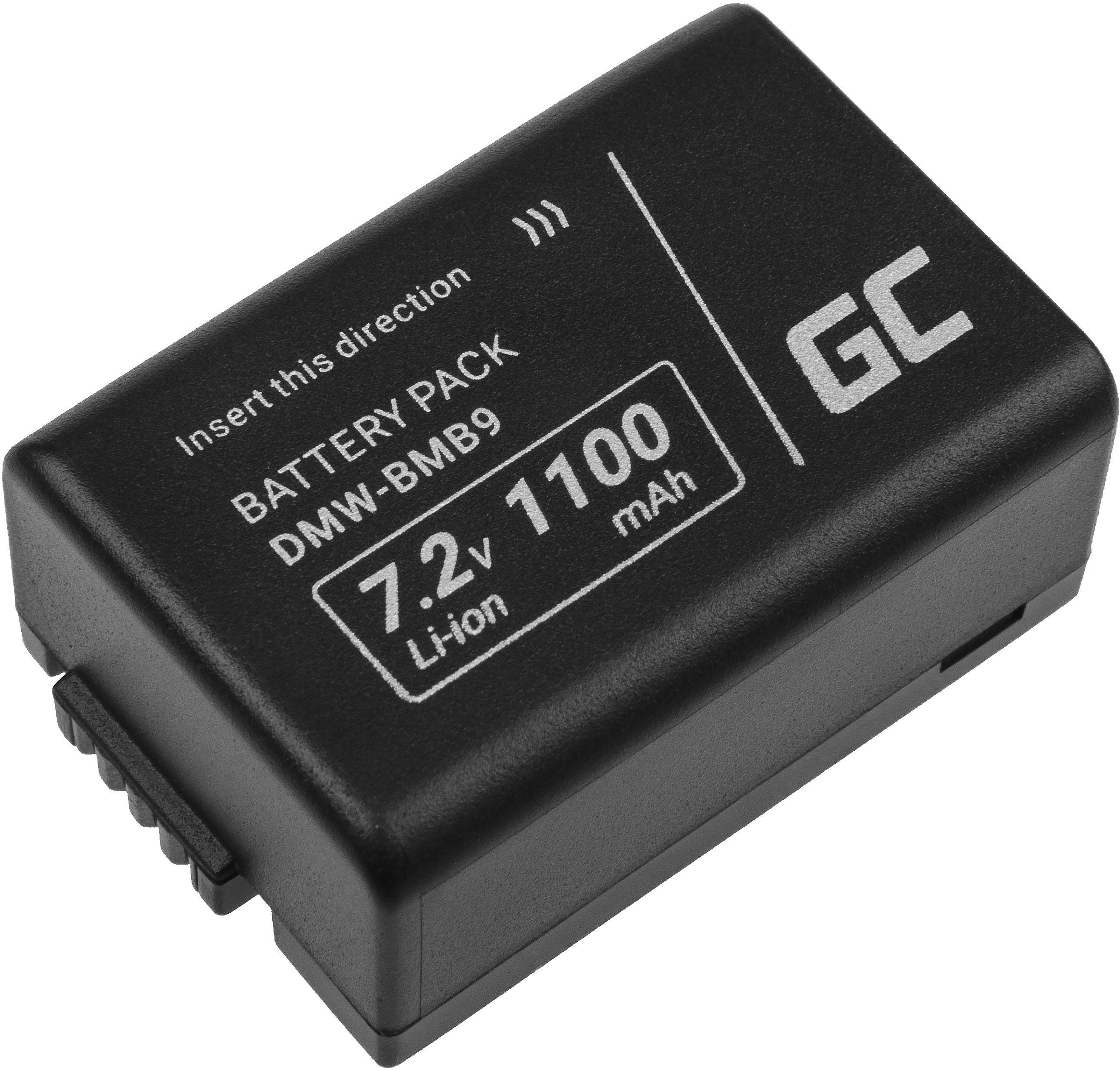 Akumulator Bateria Green Cell  DMW-BMB9E do Panasonic Lumix DMC FZ60 FZ70 FZ72 FZ82 FZ100 FZ150, Full Decoded 7.2V 850mAh