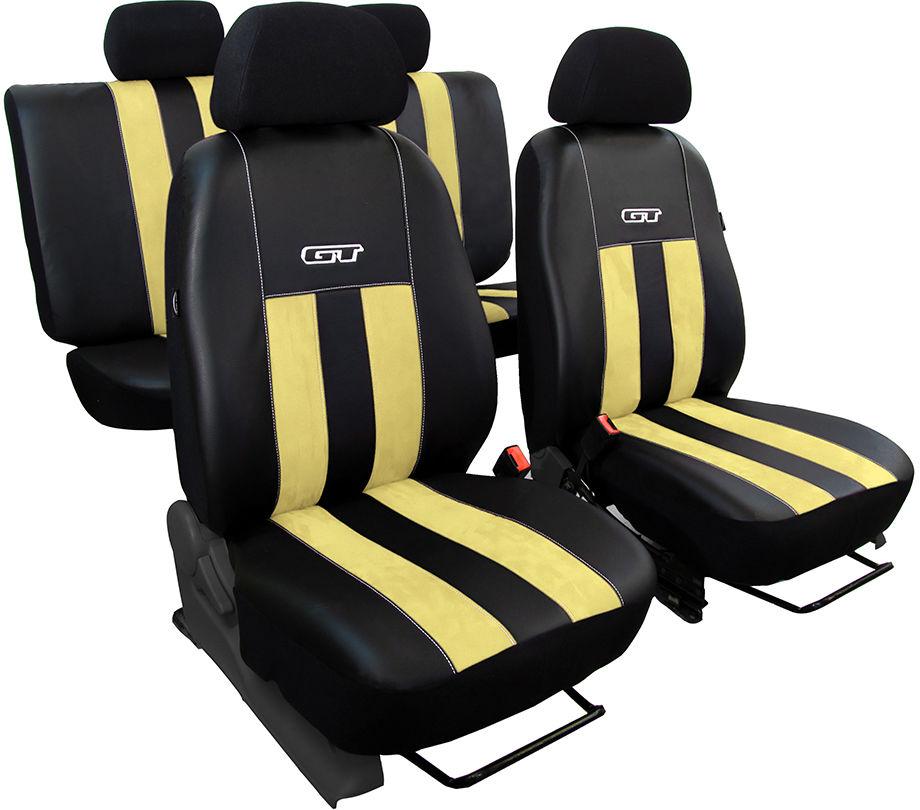 Pokrowce samochodowe do Ford Mustang coupe, GT, kolor beżowy
