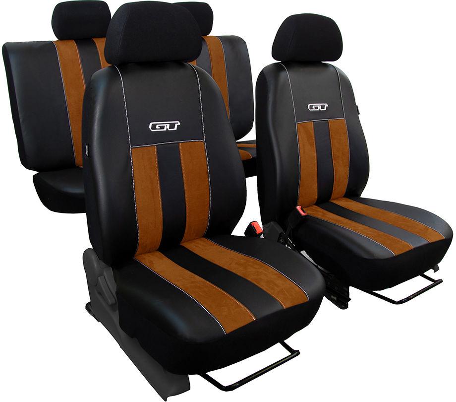 Pokrowce samochodowe do Ford Mustang coupe, GT, kolor brązowy