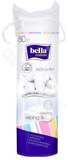 Bella Cotton Płatki kosmetyczne okrągłe 80szt