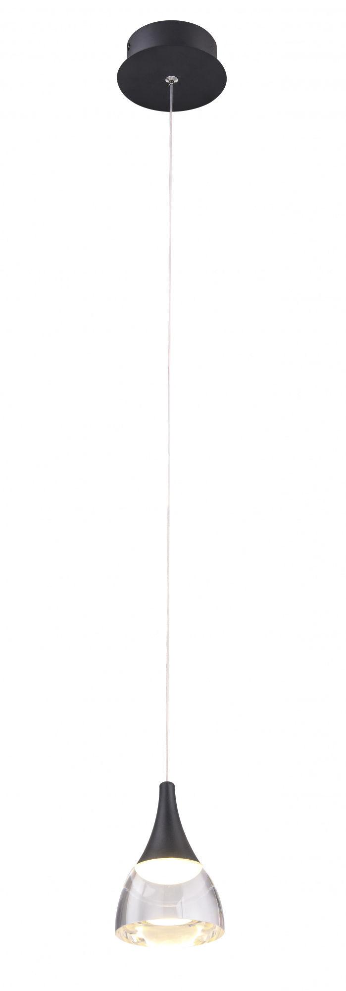 Lampa wisząca Dalmatia AZ2847 AZzardo czarna oprawa w nowoczesnym stylu