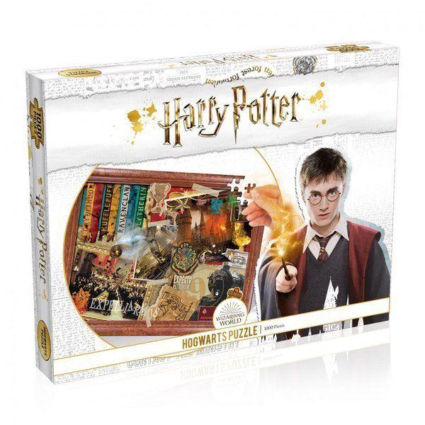 Puzzle 1000 Harry Potter Hogwarts - Winning Moves
