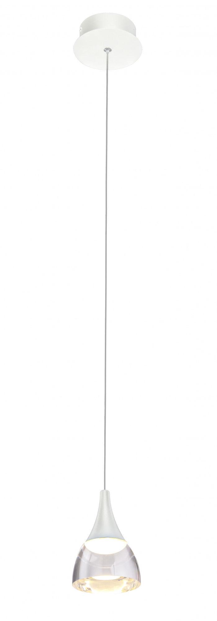 Lampa wisząca Dalmatia AZ2909 AZzardo biała oprawa w nowoczesnym stylu