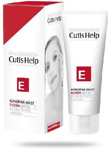CutisHelp E maść konopna na noc do skóry z problemami 100 ml