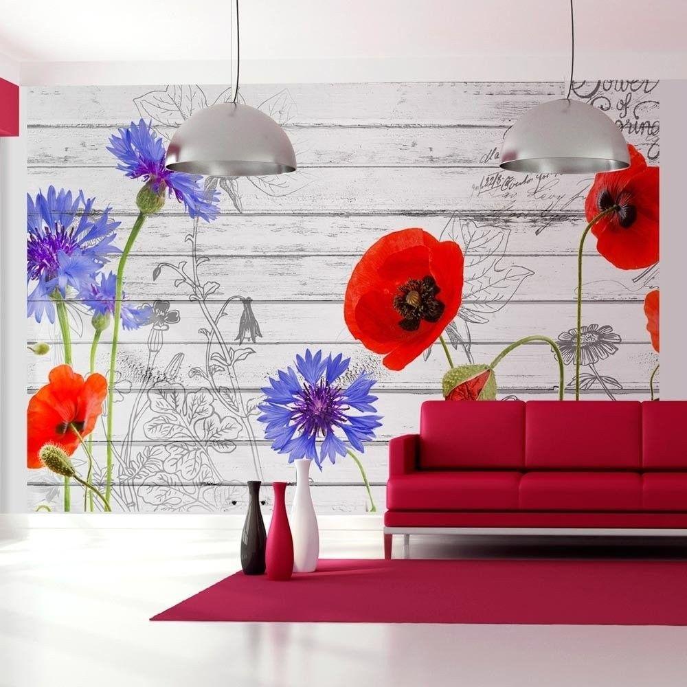 Fototapeta - polne kwiaty