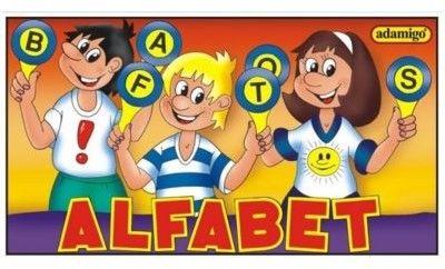 Układanka Edukacyjna Alfabet ADAMIGO 3013
