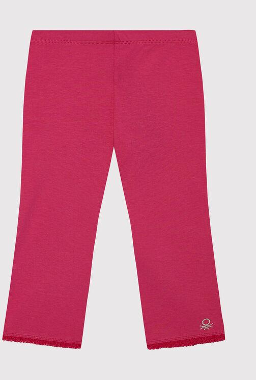 Legginsy 3MT1I0820 M Różowy Slim Fit