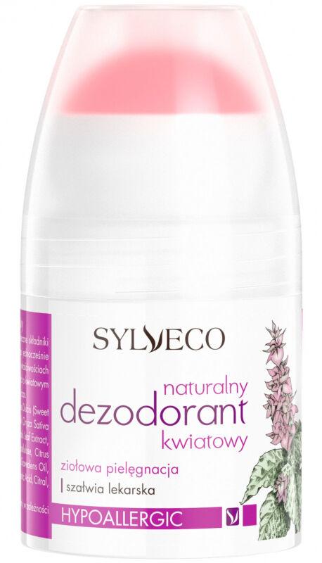 SYLVECO - Naturalny dezodorant w kulce - KWIATOWY