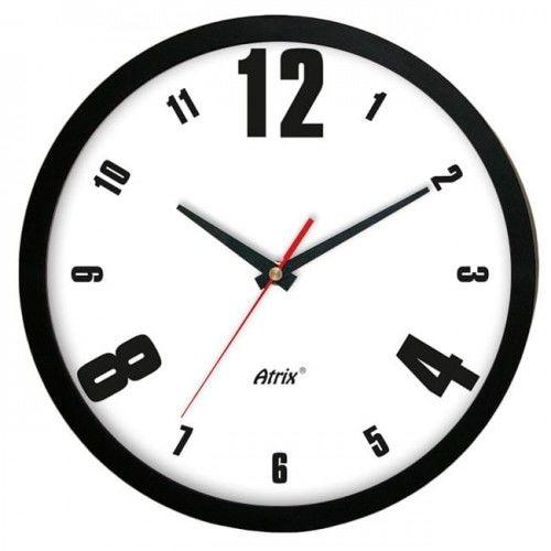 Zegar ścienny czarny modern