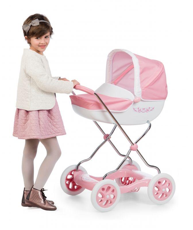 Smoby Wózek głęboki dla lalek Inglesina różowy Shara LK