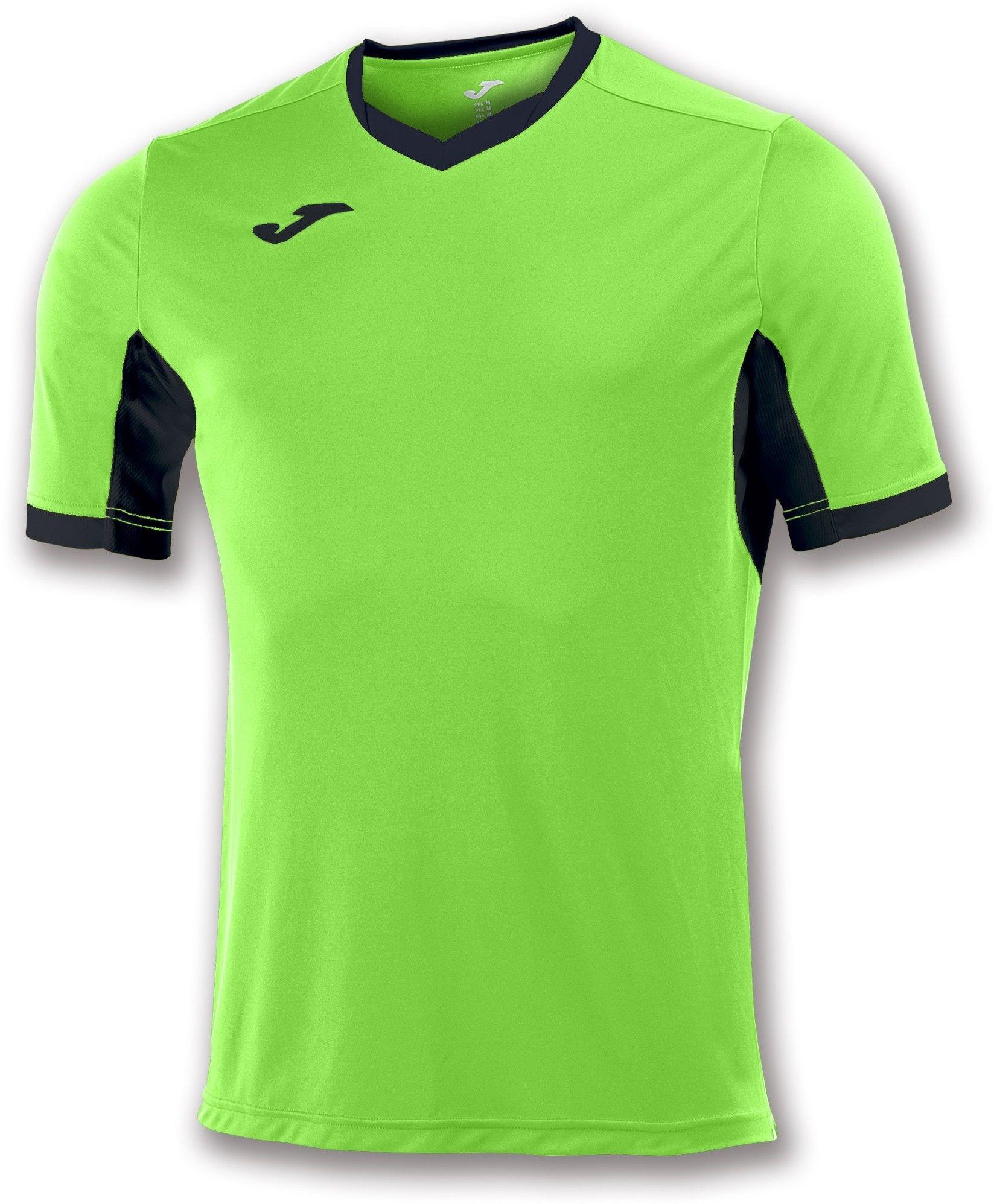 Koszulka Joma Champion IV green fluor/black (10 szt.)