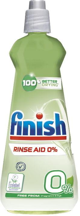 FINISH Plyn nabłyszczający Shine 0% 400 ml