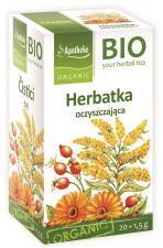 Herbatka OCZYSZCZAJĄCA BIO 20 x 1.5 g Apotheke