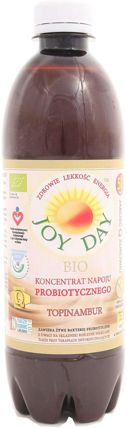 Koncentrat napoju probiotycznego Topinambur BIO - Joy Day - 500ml