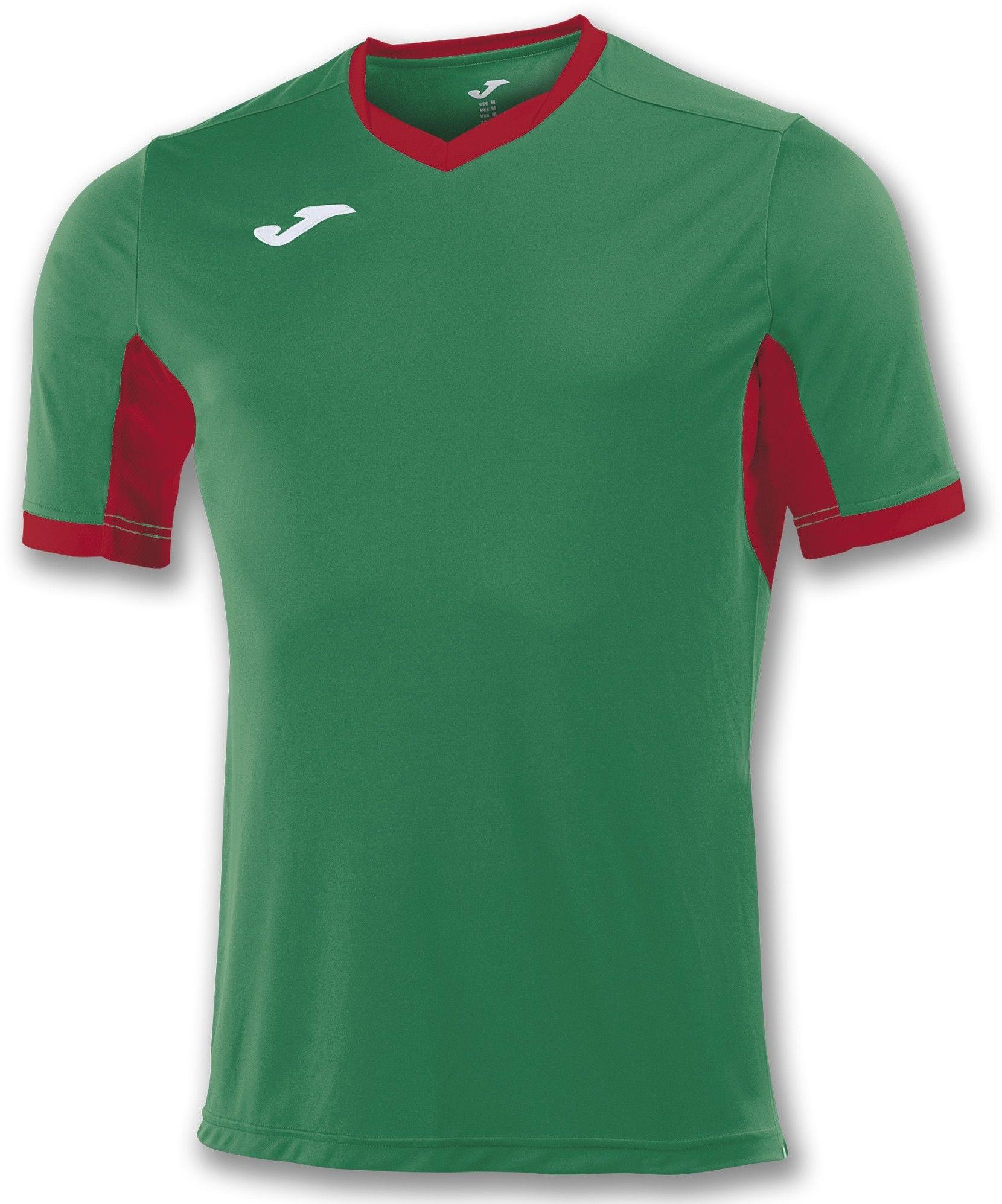 Koszulka Joma Champion IV green medium/red (10 szt.)