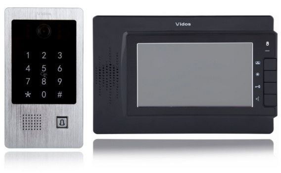 Wideodomofon vidos m320b/s20da - szybka dostawa lub możliwość odbioru w 39 miastach