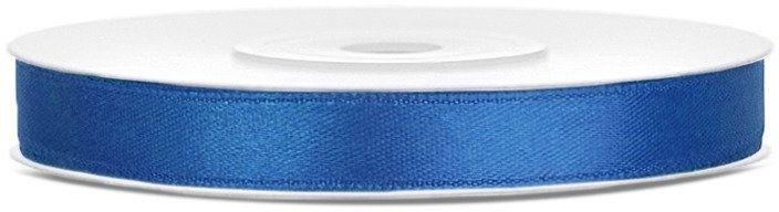 Tasiemka satynowa 6mm k. niebieska 25m 1szt. TS6-074R