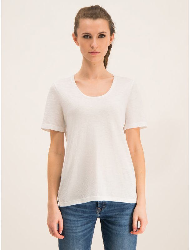 Marc O''Polo T-Shirt 907 2155 51393 Biały Regular Fit